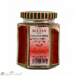 Sultan Grinded sweet peppers 75g