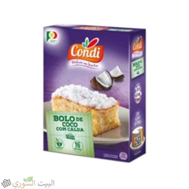 Condi coconut cake with syrup 450g