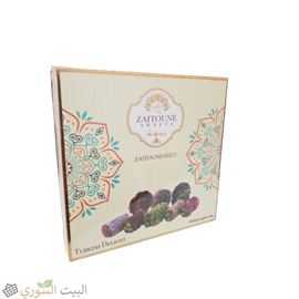 Zaitoune Turkish delight Mixed with nuts 250g