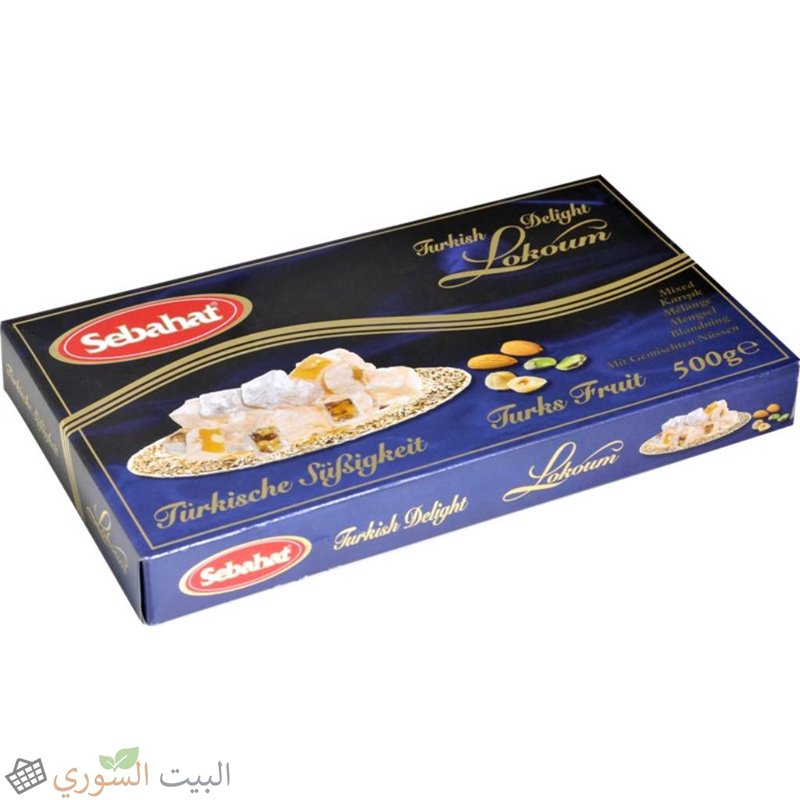 Sebahat Turkish delight Mixed with nuts 500g