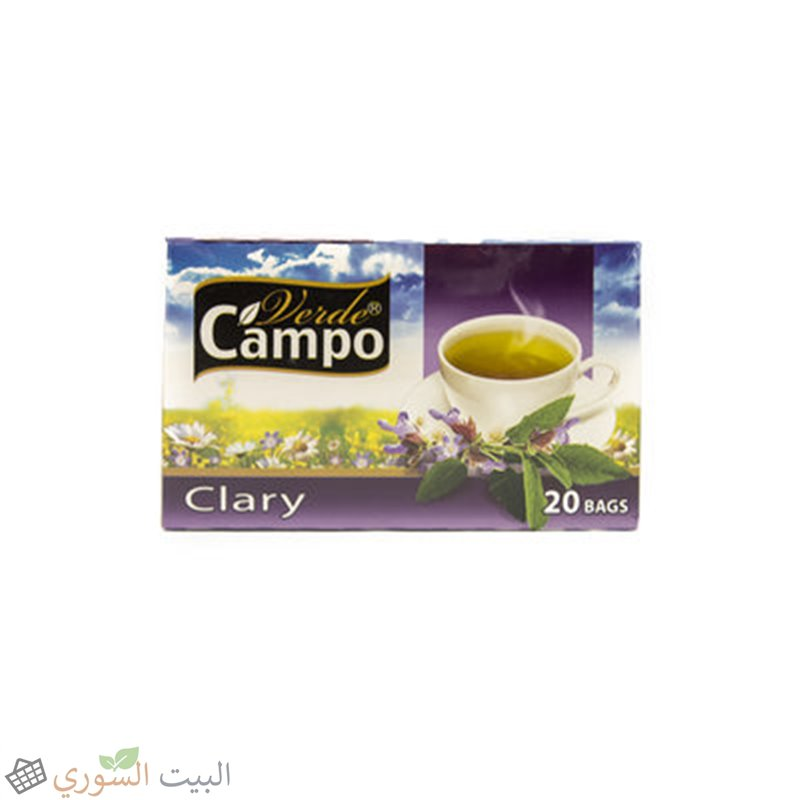 Campo Herbs Clary 20 Bags