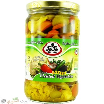 1&1  Mixed Pickles 320g