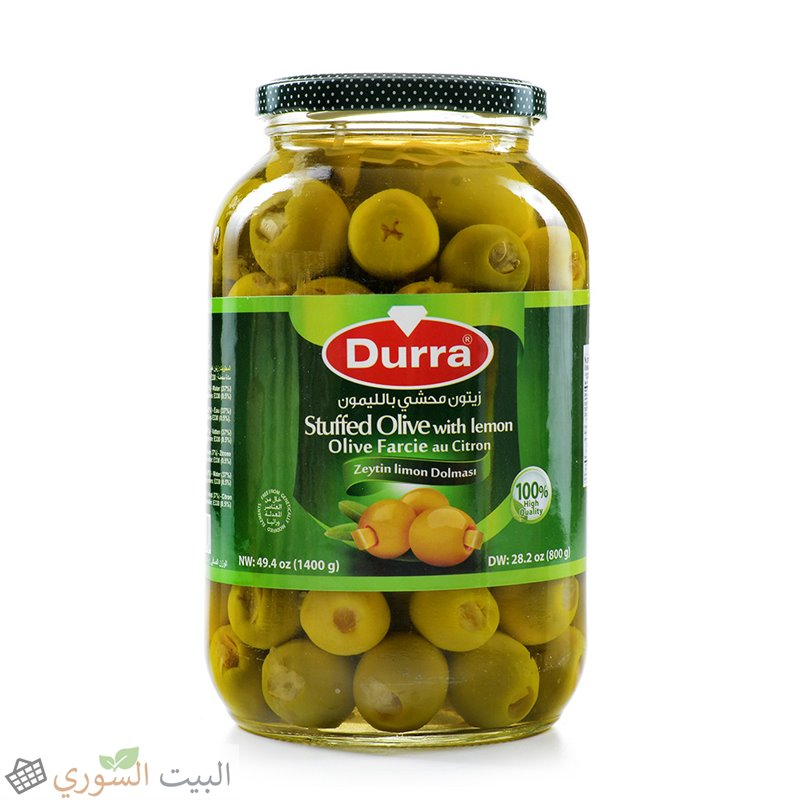Durra Suffed olive with lemon 800g