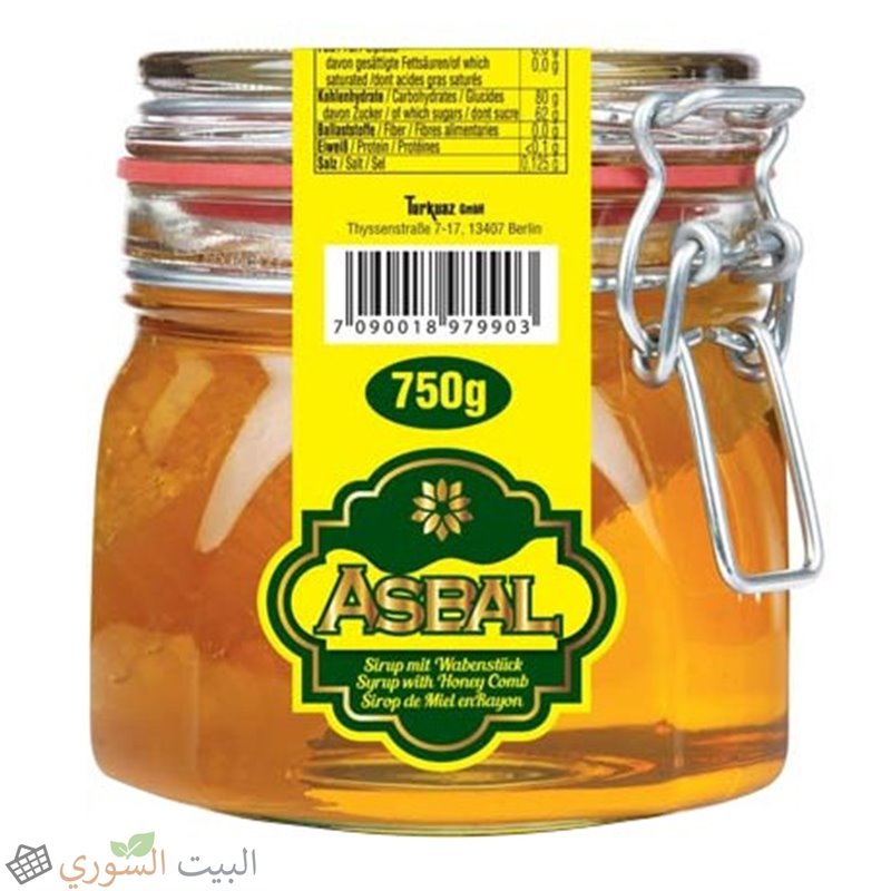 Asbal Honey with comb 750g