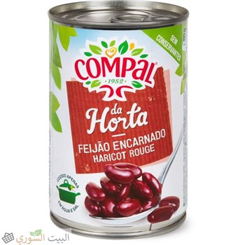 Compal haricots rouges 260g