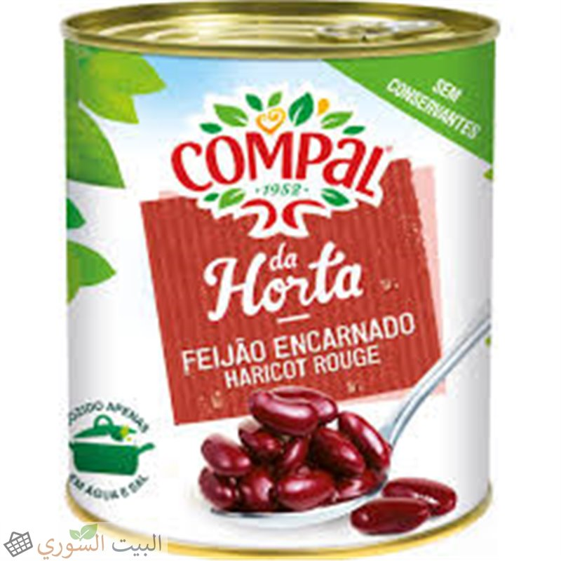 Compal haricots rouges 520g