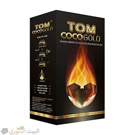 TOM Coco Gold Coconut Charcoal 216 cubes