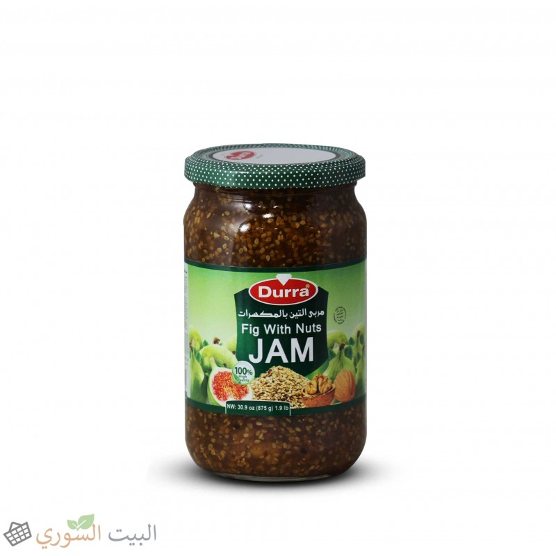 Durra Fig Jam  with nuts 430g